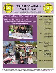upcoming thanksgiving dates euchee yuchi language project