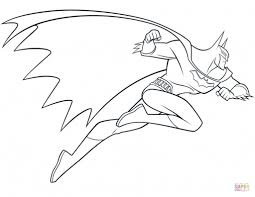 superheroes batman robin batgirl coloring pages hellokids