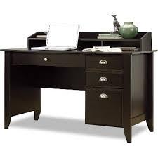 dark brown computer desk shoal creek dark brown wood desk black chair rc willey furniture