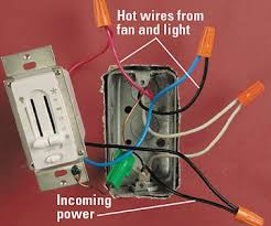 fan and light dimmer switch wiring ceiling fan google search electrical home pinterest