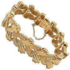 woven link bracelet images 14k ah gold italian link bracelet for sale at 1stdibs jpg