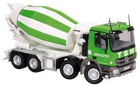 cement and concrete pump an mixer scale models by first gear nzg
