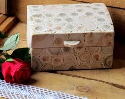 juniper wood box wooden hinged box handmade wood box rustic