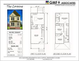 house plans for wide lots 39 best gmf associates va beach stock house plans images on