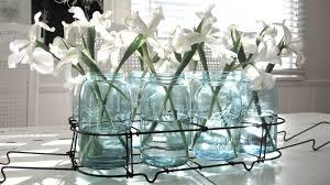 Beachy Chandeliers by Chandeliers At Beach House 27 Aqua Glass Jars U0026 The New Beach