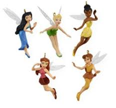 tinker bell and friends pixie hollow 5pc set 2009