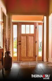Shaker Style Exterior Doors Rustic Style Fiberglass Entry Doors With Sidelights Exterior