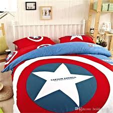 duvet covers for males marvel bedding cotton captain