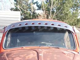 custom flared hole sun visor for volksrod rat rod vw classic