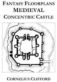 Fantasy Floor Plans Medieval Concentric Castle Fantasy Floorplans Dreamworlds