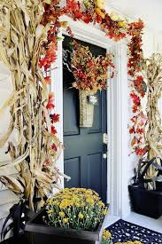 Fall Decorations For Outside The Home Get Into The Seasonal Spirit 15 Fall Front Door Décor Ideas