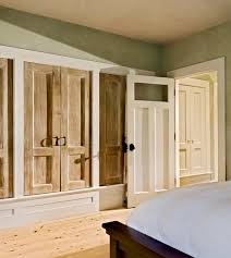 Used Closet Doors Are The Closet Doors Painted To Look Like Wood If So