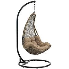Patio Swing Chair With Stand by Modterior Outdoor Outdoor Chairs Abate Outdoor Patio