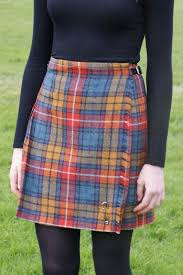 new scottish shetland wool ladies kilt flora choose colour