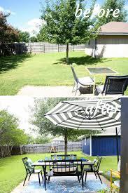 exterior spaces before u0026 after love u0026 renovations