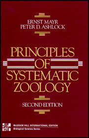 principles of systematic zoology ernst mayr and peter d ashlock