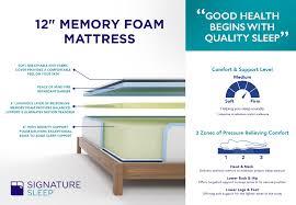 target black friday sale memory foam mattress signature sleep memoir 12