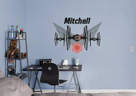 Wwe Wall Stickers Tie Fighter Personalized Name Wall Decal Shop Fathead For Wall