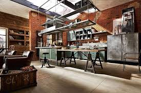 industrial style house the industrial style kitchen tips for lighting and décor
