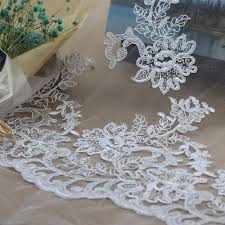 china bridal lace fabric wedding gown lace cord lace fabric w9028