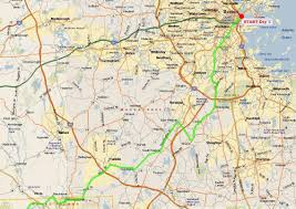 Maps Boston Biking From Boston Ma To Washington Dc