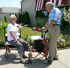 senior walkers with seat wheelchair assistance rollators and walkers