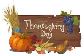 thanksgiving day crop bulletin board vector free vector graphic