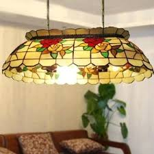 tiffany pool table light best of tiffany pool table light for red rose dinning room stained