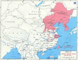 Map China Map Of China 1938 39