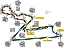 Circuit Of The Americas Track Map by Buddh International Circuit Layout U0026 Records Lewis Hamilton