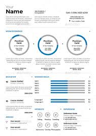 Resume Template 2014 Infographic Resume Template Sample Editable In Eps Infographic