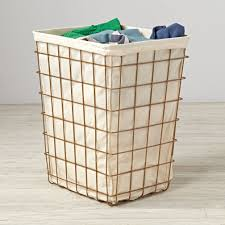 Gold Home Decor Accessories Gold Index Laundry Hamper The Land Of Nod