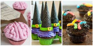 How To Make Halloween Decorations At Home 16 Easy Halloween Cupcake Recipes Halloween Cupcake Decorating Ideas