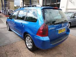 peugeot diesel estate cars for sale peugeot 307 estate 2 0 td hdi rapier 90bhp 5d ac for sale