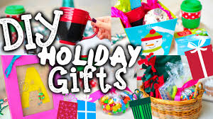 Homemade Christmas Gifts by Easy Diy Christmas Gifts Holiday Gift Guide Youtube