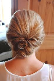 Elegant Chignon Hairstyle by Best 25 Low Updo Ideas On Pinterest Low Bun Wedding Hair
