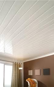 lambris pvc chambre charmant revetement plafond chambre avec revaatement ambiance blanc
