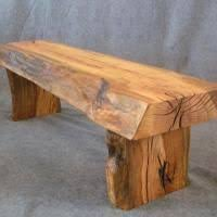 Rustic Oak Bench Log Bench Outdoor Gardens U0026 Decorating Pinterest Bench Logs