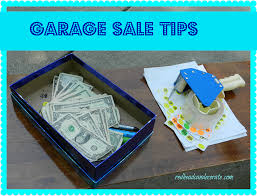 garage sale tips decorating blogs home and sales tips