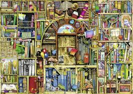 amazon com ravensburger bizarre bookshop 2 jigsaw puzzle 1000