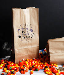 halloween candy bag trick or treat yo u0027self halloween treat bags u2014 freckle u0026 fair