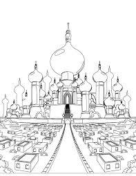 château aladdin disney classique jasmine disney