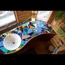 mosaic bathroom houses flooring picture ideas blogule