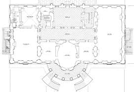 plan of white house house plans