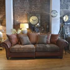 Leather And Tapestry Sofa 7 Best Leather Furniture Images On Pinterest Leather Furniture
