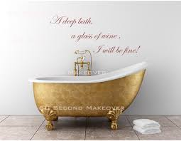 funny and creative quotes decals for every room decoholic bathroom quote wall art sticker