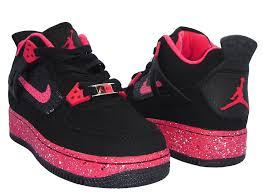 kid jordans air fusion 4 black pink kids shoes jordans online