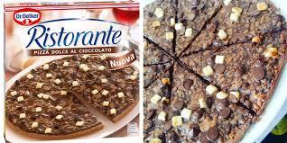 jeux de cuisine de pizza au chocolat dr oetker lance sa pizza surgelée au chocolat cosmopolitan fr