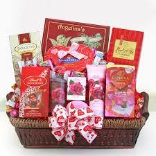 Valentines Day Gift Baskets Valentines Day Gifts Valentine Roses Flowers And Gift Baskets