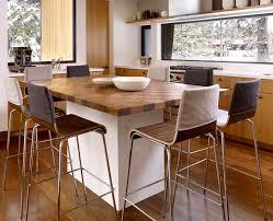 cuisine ilot table modele de table de cuisine en bois chaises with